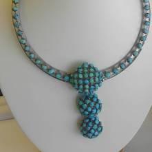 Silver turquoise circa 1950
