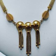 18Kt yellow gold necklace circa 1940