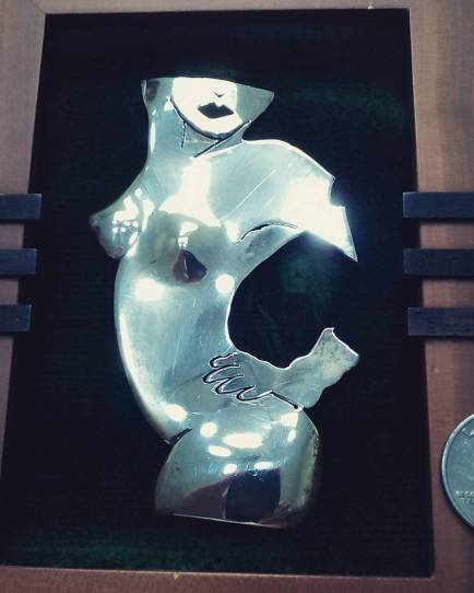 Hand made in silver